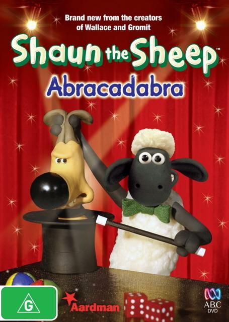 Shaun the Sheep - Abracadabra on DVD