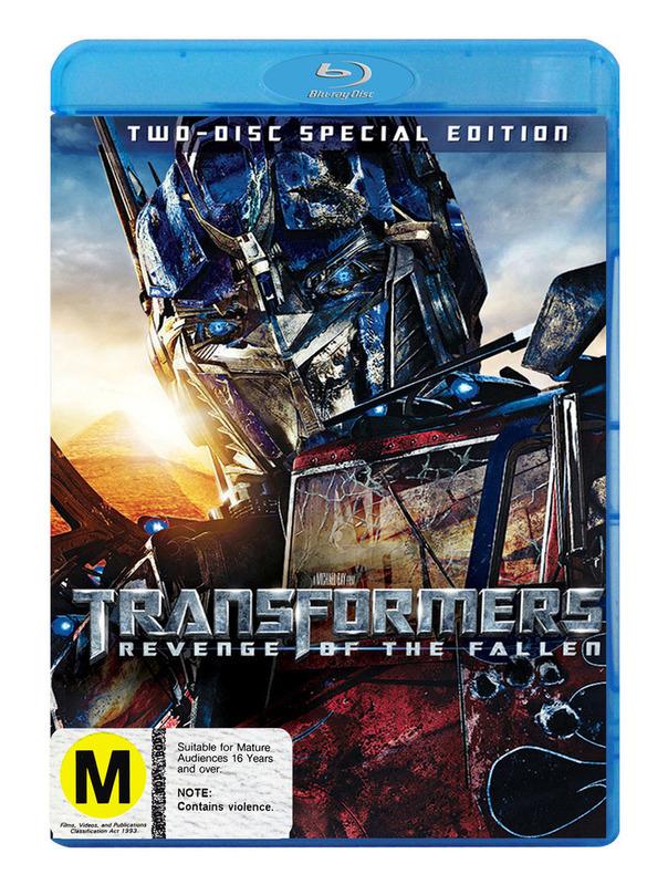 Transformers 2 - Revenge of the Fallen on Blu-ray