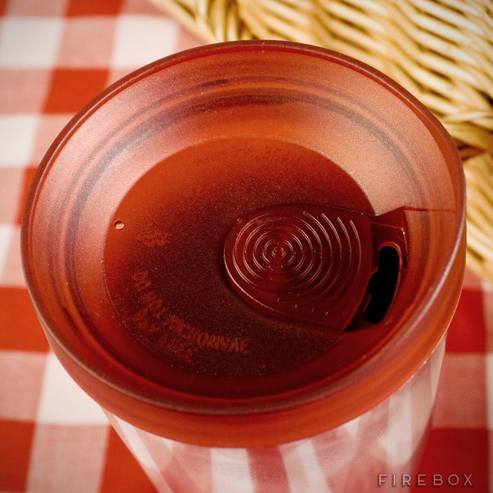 8559bbc8650 Vino2Go Portable Wine Glass (Merlot Red)