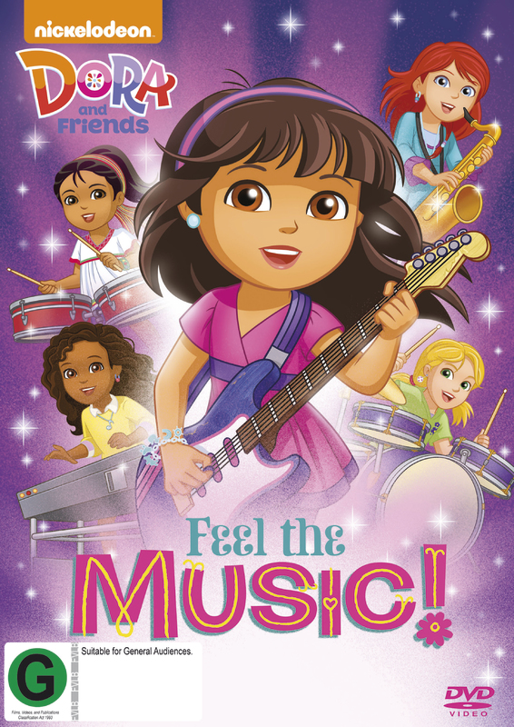 Dora & Friends Feel The Music! on DVD