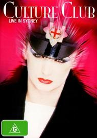 Culture Club - Live in Sydney (1984)