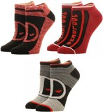 Deadpool: Ankle Sock - 3-Pack