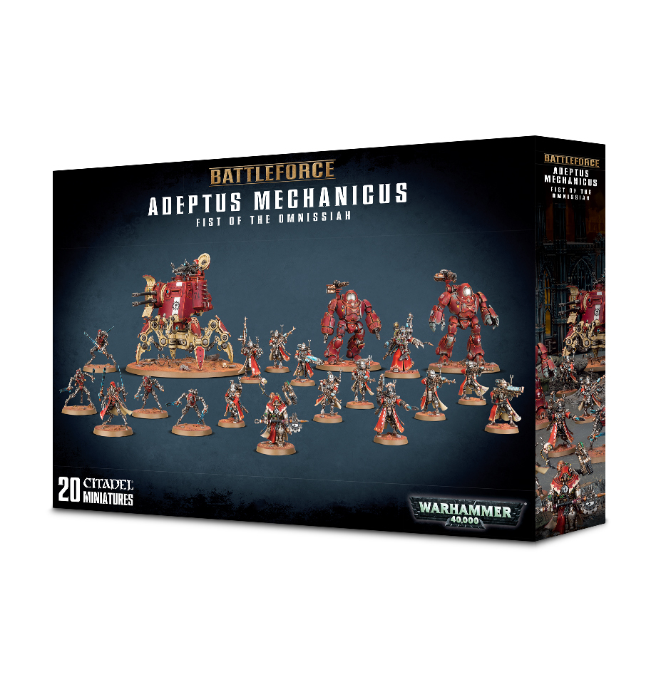 Warhammer 40,000 Adeptus Mechanicus Fist Of The Omnissiah image