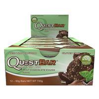 Quest Nutrition - Quest Bar Box of 12 (Mint Choc Chunk)
