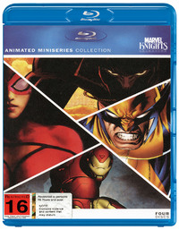 Marvel Knights - Animated Miniseries Collection (4 Disc Set) on Blu-ray