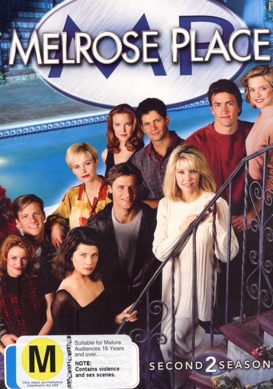 Melrose Place - Season 2 (8 Disc Box Set) on DVD