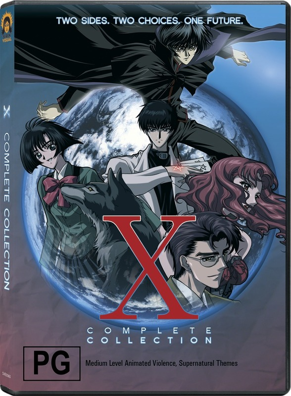 X - Complete Collection (3 Disc Box Set) on DVD