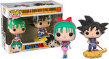 Dragon Ball Z - Bulma & Goku US Exclusive Pop! Vinyl Figure 2-Pack