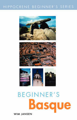 Beginner's Basque by Wim Jansen image