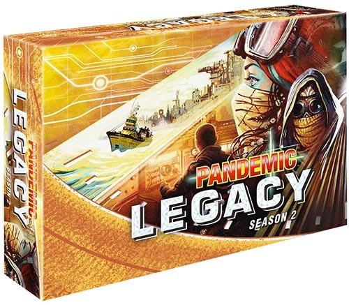 Pandemic Legacy: Season 2 - Yellow Box image
