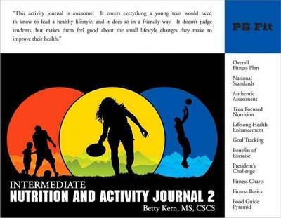 Intermediate Nutrition and Activity Journal: No. 2 by Betty Kern image