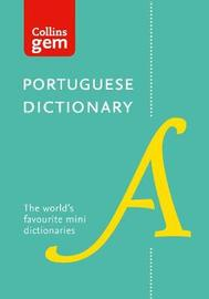 Collins Portuguese Gem Dictionary by Collins Dictionaries