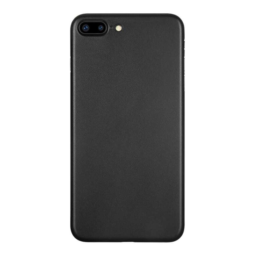 Kase Go Original iPhone 7 Plus Slim Case- Pitch Black image