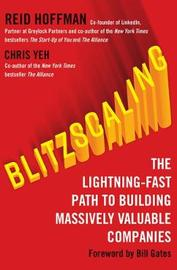Blitzscaling by Reid Hoffman