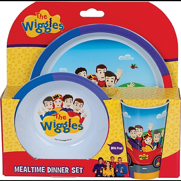 The Wiggles: 3 Piece Dinner Set image