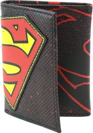 DC Comics: Superman Halftone Applique - Tri-fold Wallet
