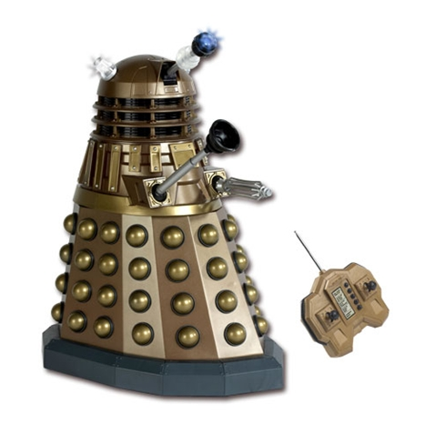 Doctor Who - R/C Gold 12-inch Dalek image