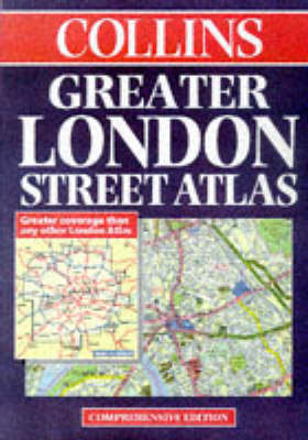 Collins Greater London Street Atlas image