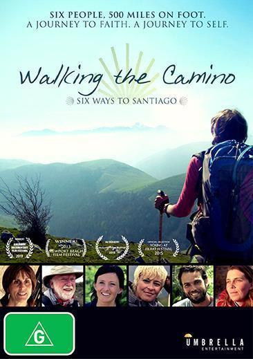 Walking the Camino on DVD image