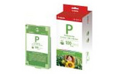 Canon EP100 Easy Photo Pack For ES1 Photo Printer 100 Pack of Ink & Paper
