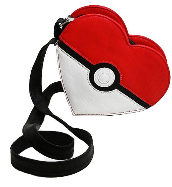Loungefly Pokemon Pokeball Shoulder Bag image