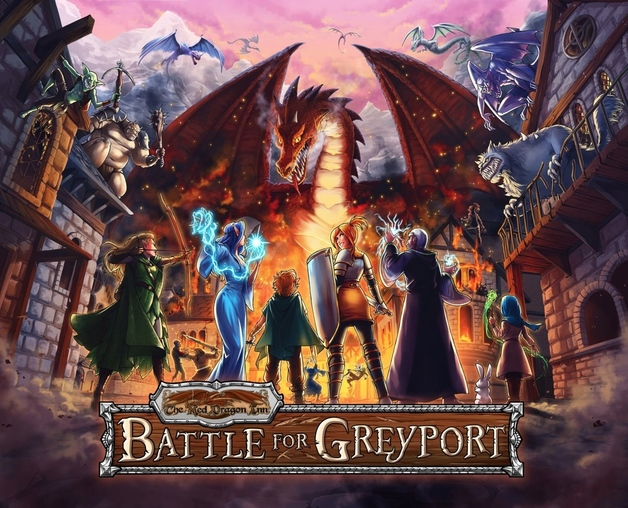 Red Dragon Inn: Battle for Greyport - Card Game