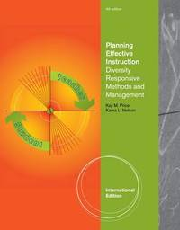 Planning Effective Instruction by Karna L Nelson image