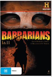 Barbarians - I & II  (4 Disc Set) on DVD image