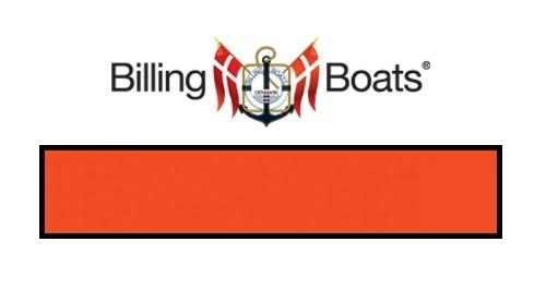 Billing Boats: Acrylic Paint - Orange (22ml)
