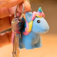 Poo Poo Unicorn - Novelty Keychain (Assorted Designs)