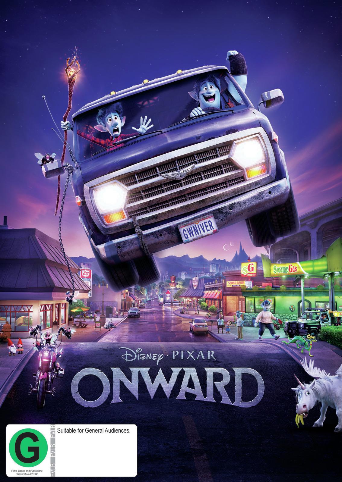 Onward on DVD image