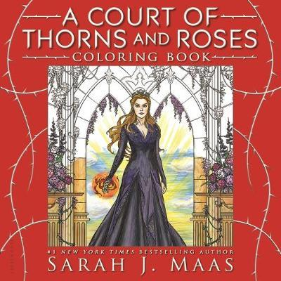A Court of Thorns and Roses Coloring Book image