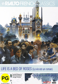 Life is a Bed of Roses on DVD