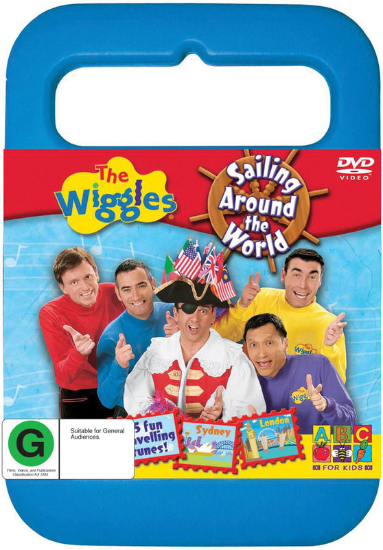 The Wiggles - Sailing Around The World on DVD