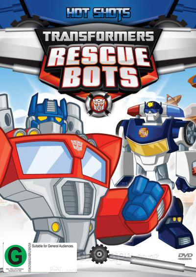 Transformers Rescue Bots: Hot Shots on DVD