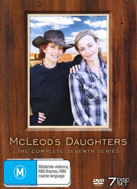 McLeod's Daughters - Complete Season 7 (7 Disc Box Set) on DVD