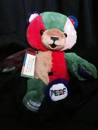 "Peef the Christmas Bear - 12"" Plush by Hegg Tom"