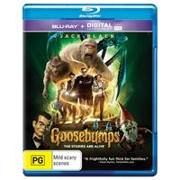 Goosebumps on Blu-ray, UV