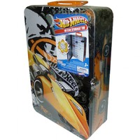 Hot Wheels: 40 Car Storage Tin - Yellow Car