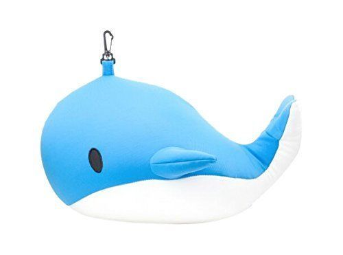 Zip & Flip Pillow - Whale