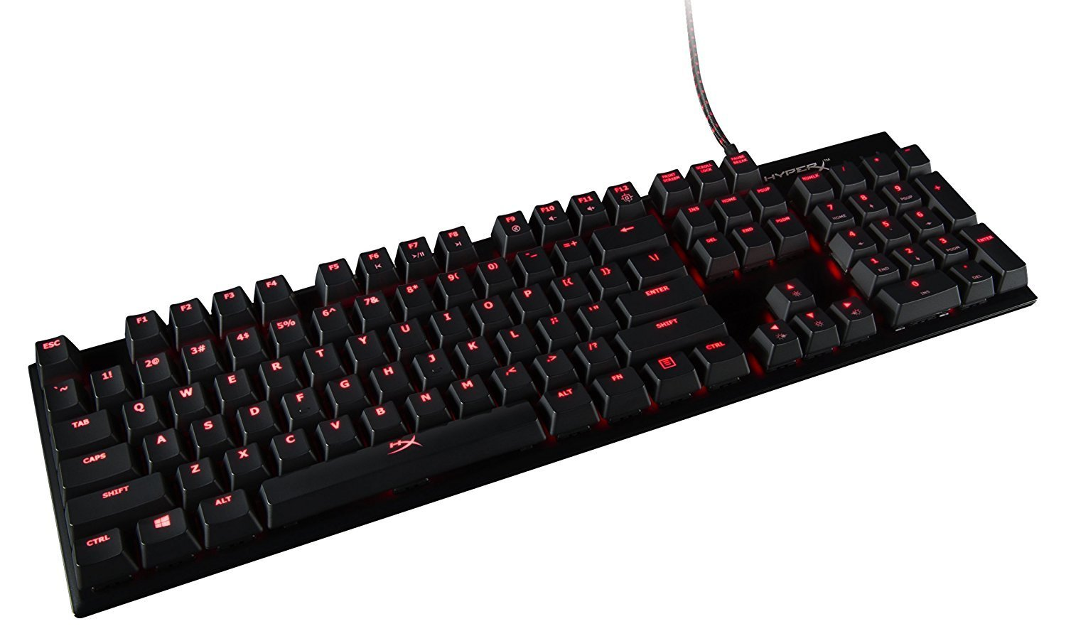 HyperX Alloy FPS Mechanical Gaming Keyboard (Cherry MX Brown) for PC image