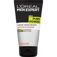 L'Oreal Men Expert - Pure Power Scrub (150ml)