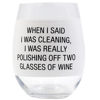 Wine Glass: Polishing Off