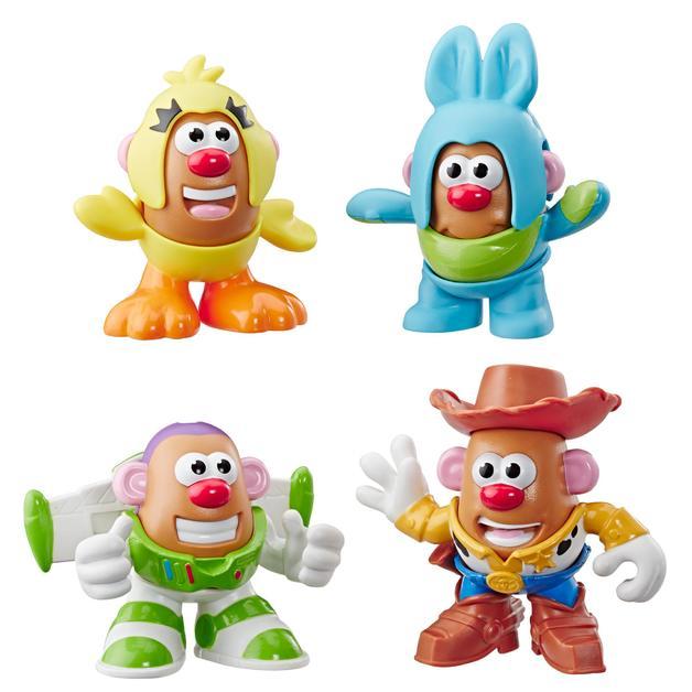 Toy Story 4: Mr Potato Head - Mini-Figure 4 Pack