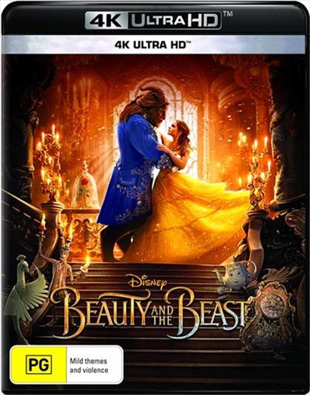 Beauty & The Beast (2017) on UHD Blu-ray