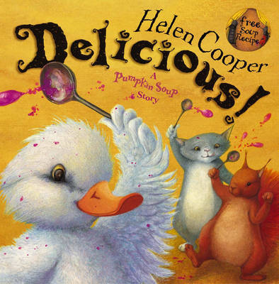 Delicious! by Helen Cooper image
