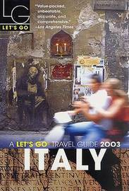 Let's Go Italy 2003 by Let's Go Inc image