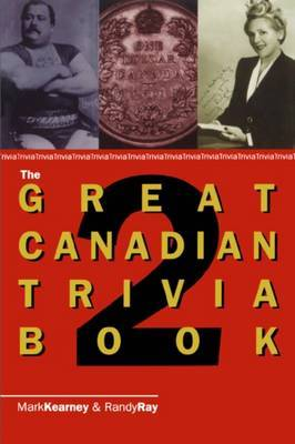 The Great Canadian Trivia Book 2 by Randy Ray image