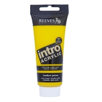 100ml Reeves Intro Acrylic - Medium Yellow