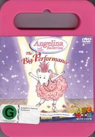 Angelina Ballerina: The Big Performance on DVD image